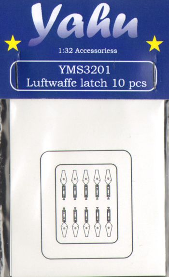 Luftwaffe Latches (10x)  YMS3201