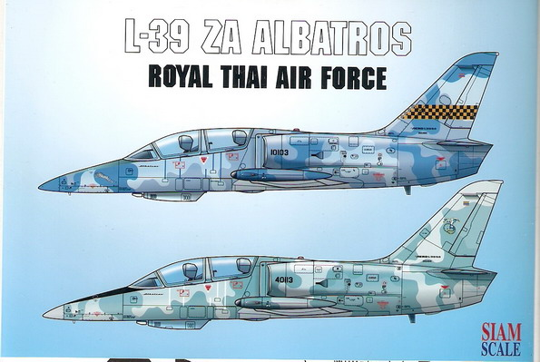 L39ZA Albatros (Royal Thai Air Force)  SSN72030
