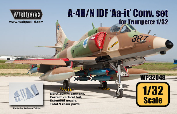 A4H/N Skyhawk (IDF 'Aa-it') Conversion set for Trumpeter 1/32  WP32048