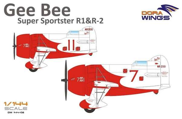 Gee Bee Super Sportster R1 and R2 (2 kits included!)  DW14402