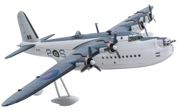 Short Sunderland Mk III (Royal Canadian Air Force, ML788/2-S, No.422 Squadron RCAF, Pembroke Dock)  AA27502
