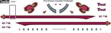 CL601 Challenger (Thai Airways)  144-60