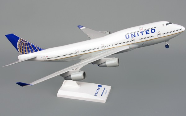 Boeing 747-400 United Airlines Post Continental Merger  SKR614
