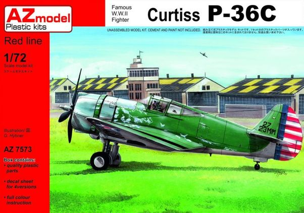 Curtiss P36C Hawk  AZ7573