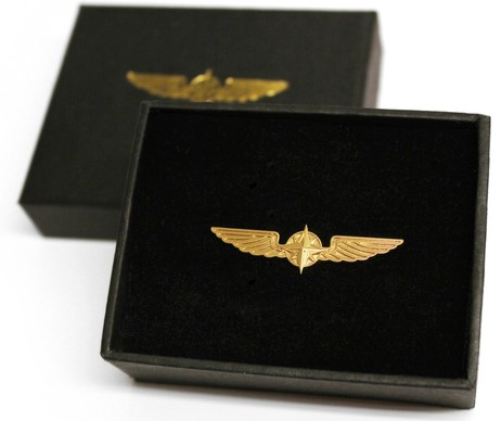 Pilot Wings Small size Gold colour  WING-G-S 2CM