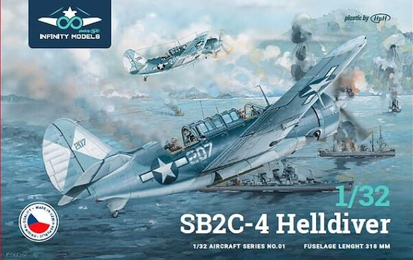 Curtiss SB2C-4 Helldiver  (expected: april 2021)  Pre-order now and save 10 euro!  INF3201