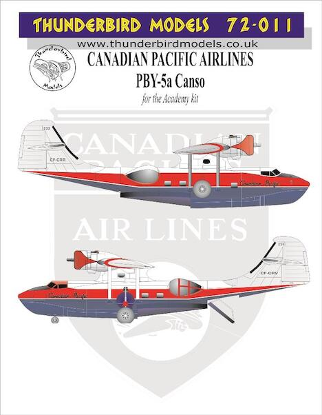 Consolidated PBY5a Canso (Canadian Pacific Airlines)  TM72-011
