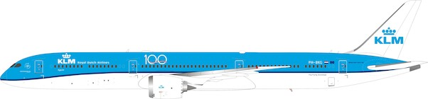 Boeing 787-10 KLM PH-BKG With Stand  IF787KLM1120