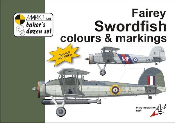 Fairey Swordfish Colours & Markings + decals (ALSO DUTCH 860sq!)  9788086637396