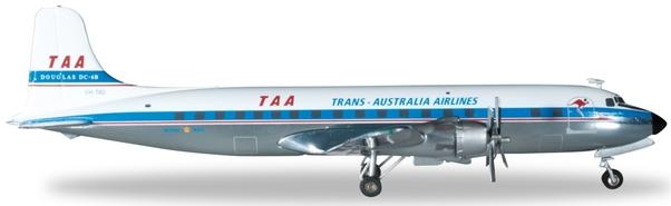 Herpa Wings 1:200 DC-6B TAA Trans Australia