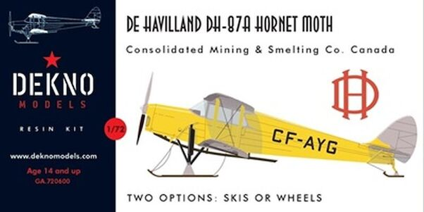 De Havilland DH-87A Hornet Moth (civil)  GA.720600