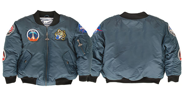 Space Shuttle Jacket For Infants and Children (5-Patch/Blue)
