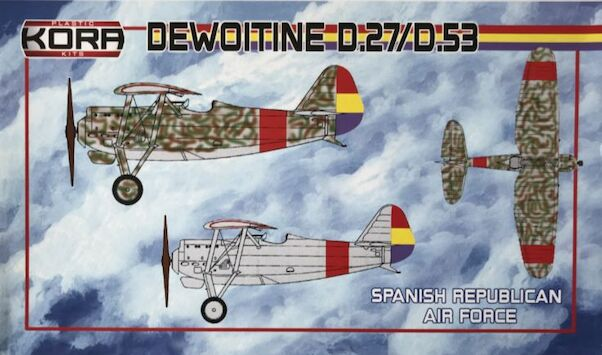 Dewoitine D.27 /D.53 (Spanish Republican Air Force)  KPK72088