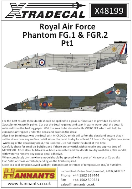 McDonnell Douglas Phantom FG1 and FGR2  part 1  X48199