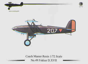 Fokker D17  (Small restock exclusively for Aviation Megastore)  49