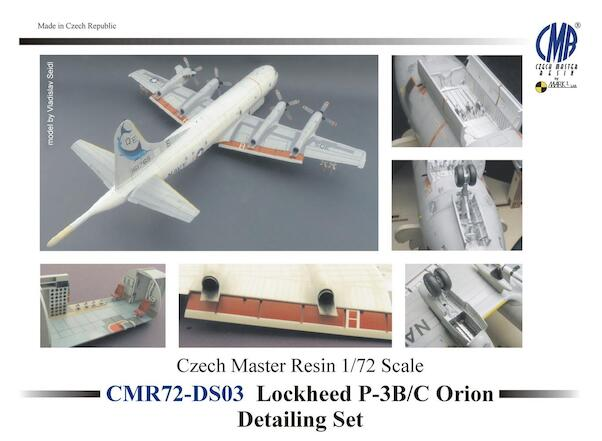 Lockheed P3B/C Orion Detailing set (Hasegawa)  (BACK IN STOCK)  CMR-DS03