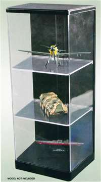 Display Case 165 x 120 x360mm with shelving  TR09847