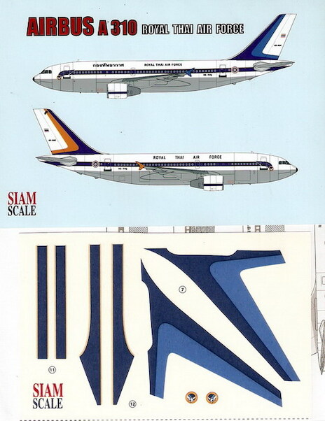A310 (RThai Air Force - 2 schemes)  SSN14419