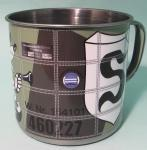 Steel cup with lid Adolf Galland  515