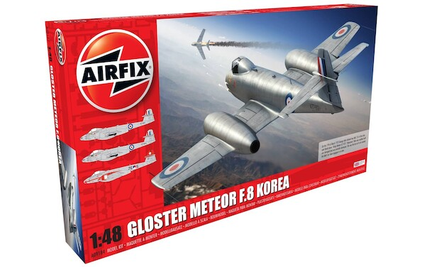 Gloster Meteor F.8 Korean War (Incl. Dutch Markings Included)  09184