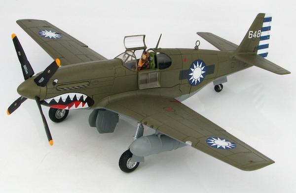 P51C Mustang (No 32 Squadron, Chinese Air Force, 1945) (Hobbymaster HA8510)