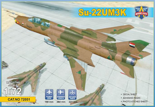 Sukhoi Su22UM3K advanced two-seat trainer (Export vers.)  72051