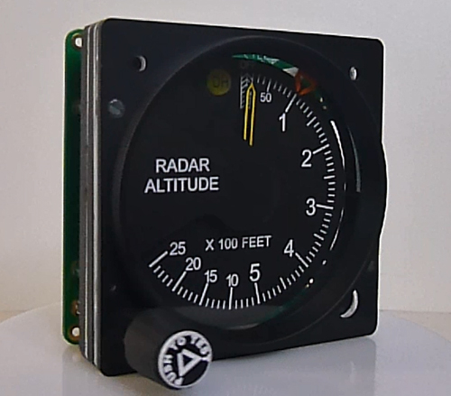 Radar Altimeter with DH (GSA-055 usb interfase required)  GSA-091