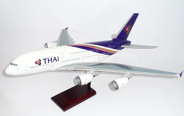 Airbus A380 Thai (Small paint spot under wing fuselage, see image)  MMY0095