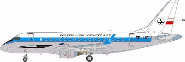 Embraer ERJ175 (LOT - Retro)  BZD413