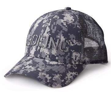 Boeing Camo Hat  115015010520