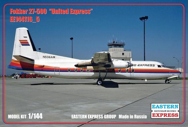 Fokker F27-500 (United Express) NEW SUPPLiER, LOWER PRICE!)  144116-5