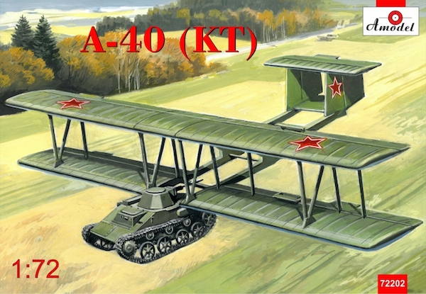 Antonov A-40 (KT) prototype flying tank with T60  72202