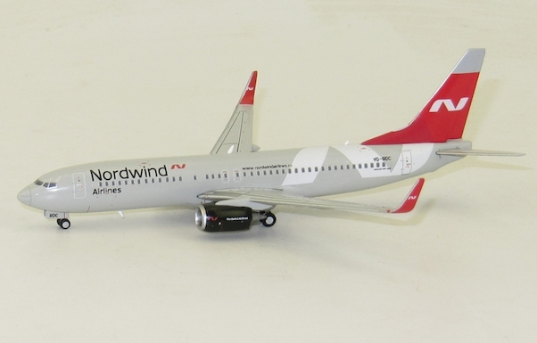 Boeing 737-800 Nordwind Airlines VQ-BDC With Antenna  LH4053