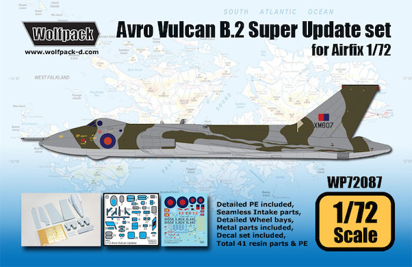 Avro Vulcan B Mk.2 Super Update Set (Airfix)  WP72087