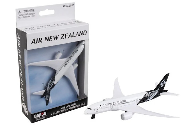 Single Plane for Airport Playset Boeing 787 Air New Zealand  RT9267