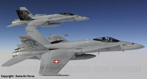 F/A-18C Hornet (J-5017 & J-5018 Staffel 17 & 18 Swiss Air Force 2010)  32-059