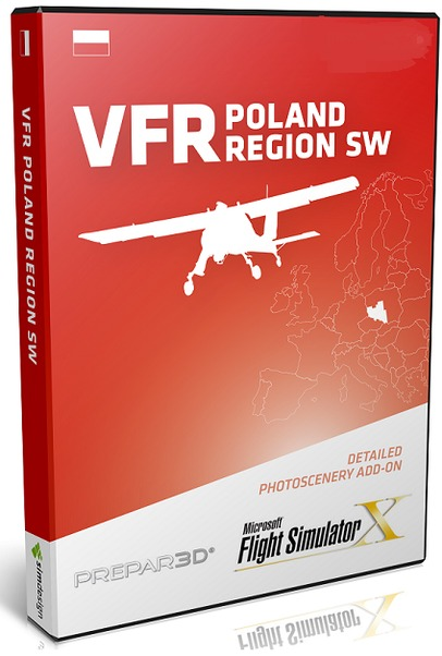 VFR Poland Region South West - Download version (FSX and P3D)  5905669405011-D