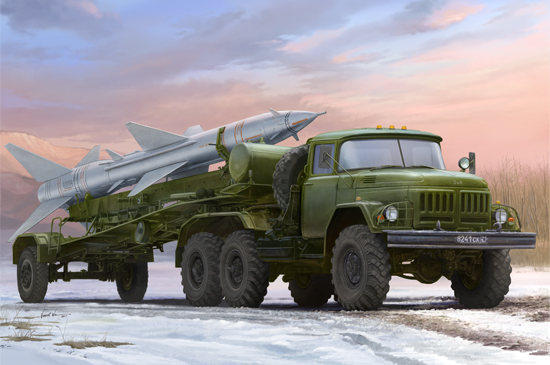 Russian ZiL131V Towed PR11 SA2 Guideline Missile  TR01033