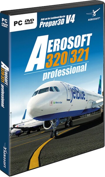 Aerosoft A320/A321 professional (download version) Now inluding Paint kit   (Aerosoft AS14200)