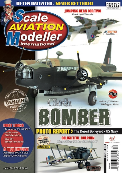 Scale Aviation Modeller Int Vol 24 Issue 10 October 2018  SAM2018-10