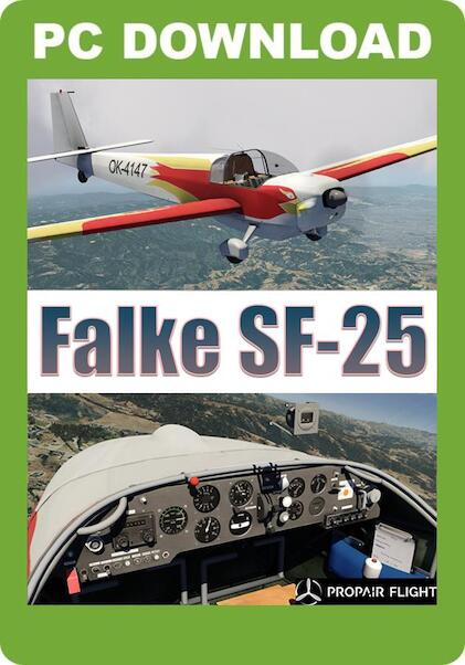 Propair Falke SF-25 (P3D download version )  J3F000283-D