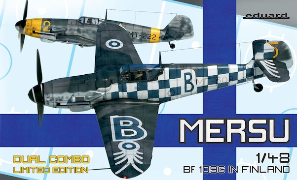 Mersu, Messerschmitt BF109G in Finland Dual Combo 2 kits included  (SPECIAL X-MAS OFFER - WAS EURO 42,95)  11114
