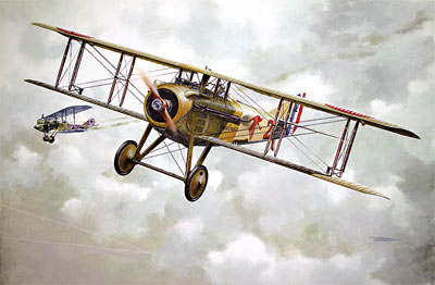 SPAD VIIC.1 early WW1 main French Fighter  604