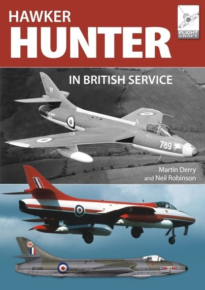 The Hawker Hunter in British Service  9781526742490