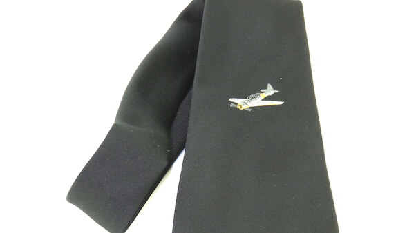 Tie - Dutch Harvard Association  (VERY LAST ONES!)  TIE-HARVARD BLACK