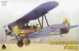Polikarpov Po4VS/U2VS Training Aircraft  OIM-M101