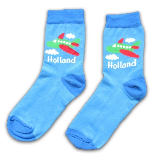 Pair of aircraft socks for children 'Holland'  SOK-0236