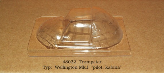 Canopy Vickers Wellington MK1 (Trumpeter)  rt48032