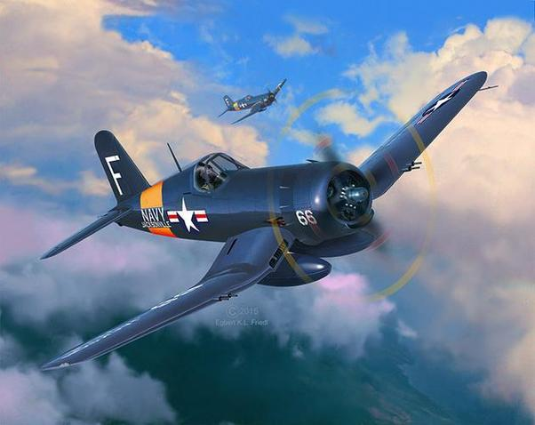 Revell 1//72 Vought F4U-4 Corsair # 03955
