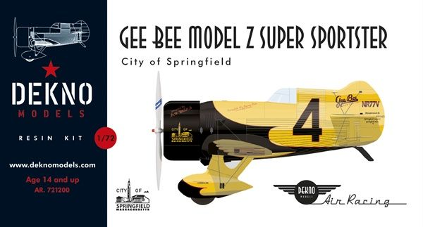 Gee Bee Model Z Super Sportster racer (1939)  AR.721200